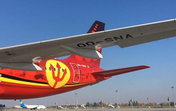 В аеропорт Бориспіль зайшла найбільша бельгійська авіакомпанія
