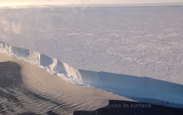 Странное  пение  арктических льдов сняли на видео