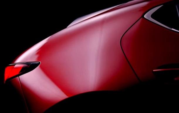 Mazda показала видео с новым хэтчбеком- тройкой
