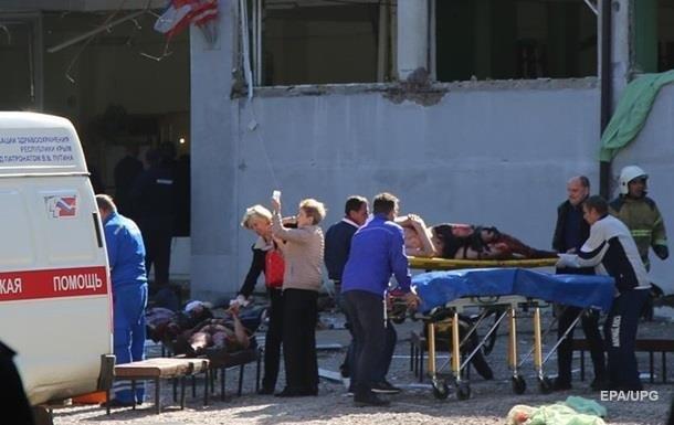Вибух у Керчі: кількість постраждалих зросла до 54 осіб