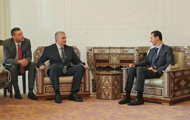 Киев направил Дамаску ноту протеста из-за визита Аксенова