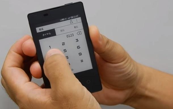 Самый тонкий телефон в мире  показали на видео