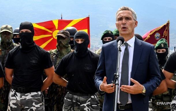 НАТО і Македонія почали переговори про вступ