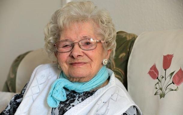 101-летняя британка раскрыла свой секрет молодости