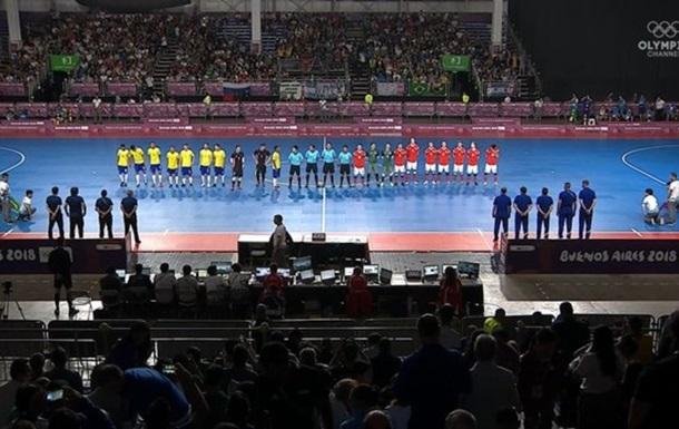 Російські футболісти влаштували бійку з суддями і суперниками на юнацькій Олімпіаді
