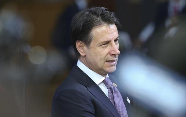 Прем єр Італії: Санкції проти Росії мають бути тимчасовими