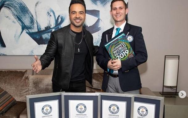 Despacito дали сім титулів в Книзі рекордів Гіннесса