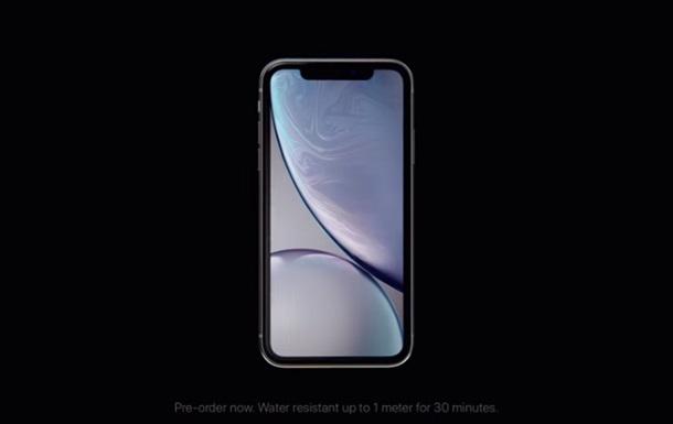 iPhone XR: видео