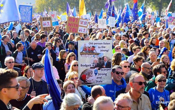В Лондоне требуют новый референдум по Brexit