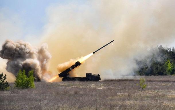 На вооружение украинской армии взяли РСЗО Ольха