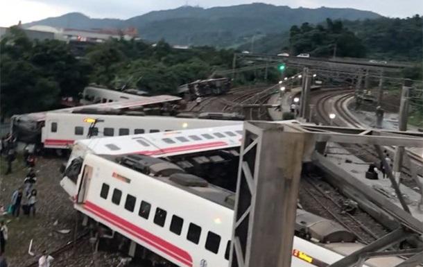 Зросло число жертв і потерпілих під час аварії поїзда на Тайвані
