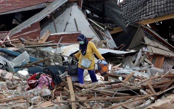 Индонезия оценила ущерб от землетрясения и цунами