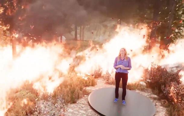 Американский канал  сжег  ведущую погоды