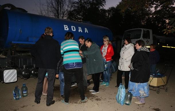 Жителі Торецька восьму добу залишаються без води
