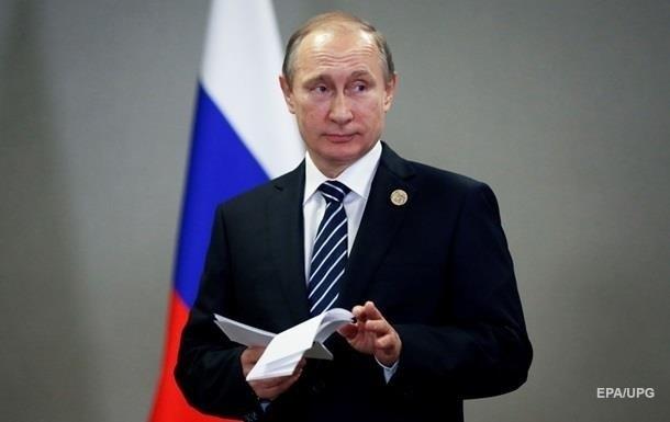 Путин подписал указ о санкциях против Украины