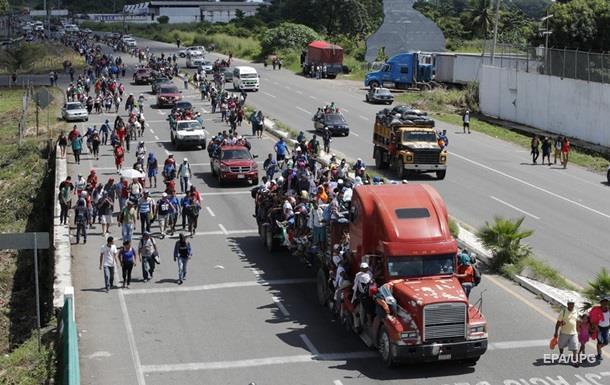 В ООН нарахували більш як сім тисяч біженців, які прямують в США