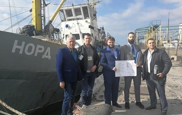 Арестованное Украинским государством российское судно «Норд» пустят смолотка