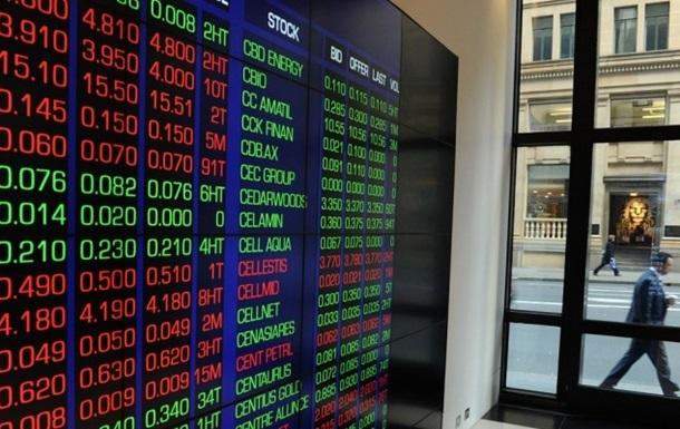 Европейские рынки акций упали до минимума за два года