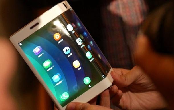 Гибкий планшет Samsung: фото