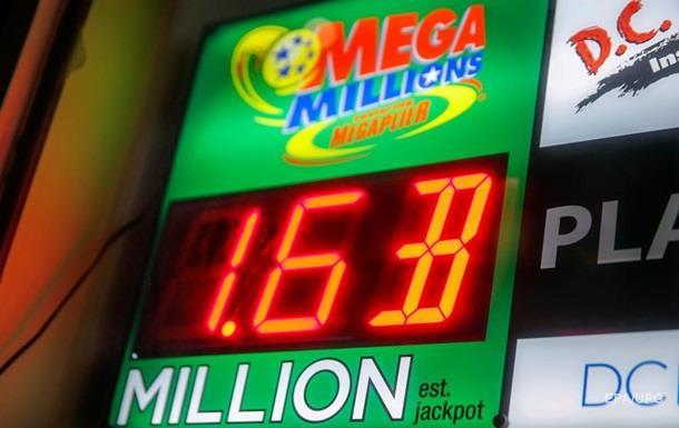 Американец сорвал рекордный выигрыш в лотерею $1,6 млрд