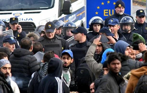 Мігранти проривалися через боснійсько-хорватський кордон