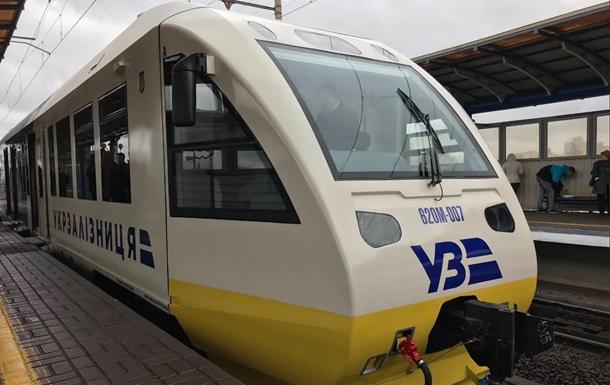 Гройсман испытал поезд в аэропорт Борисполь