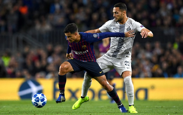Барселона без проблем справилась с Интером