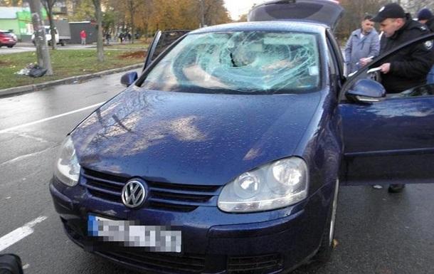 В Киеве прохожие помогли задержать автомобильного вора