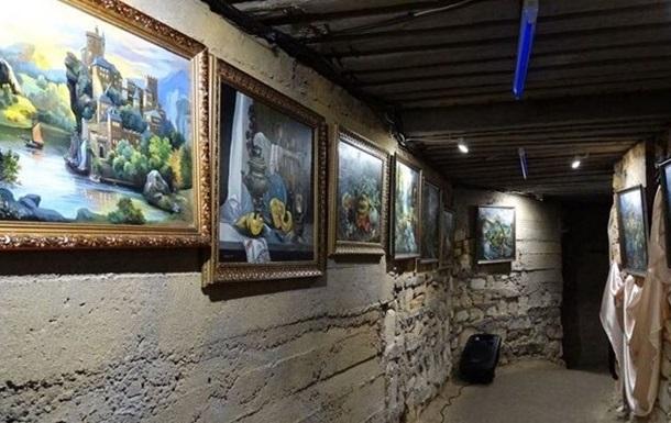 В Одесских катакомбах открыли картинную галерею