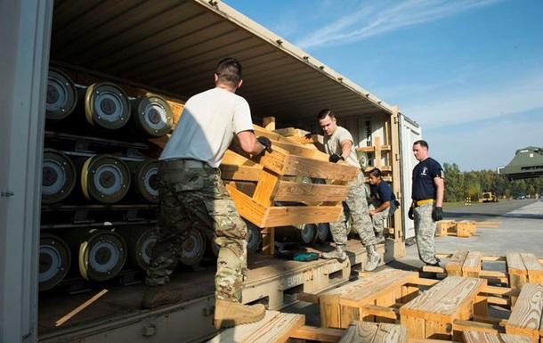 США доставили в Германию крупную партию боеприпасов