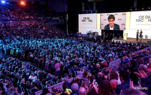 Бывший лидер Каталонии объявил о создании новой партии