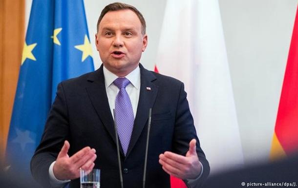 Польський президент наполягає на отриманні репарацій від Німеччини