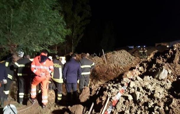 В Італії через зсув ґрунту загинули чотири людини