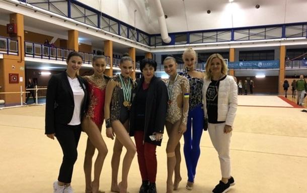 Українські грації завоювали п ять медалей на фіналі Гран-прі в Іспанії