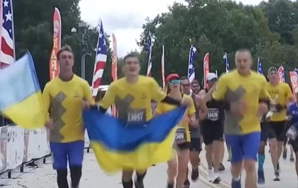 Украинские военные приняли участие в Марафоне морской пехоты США