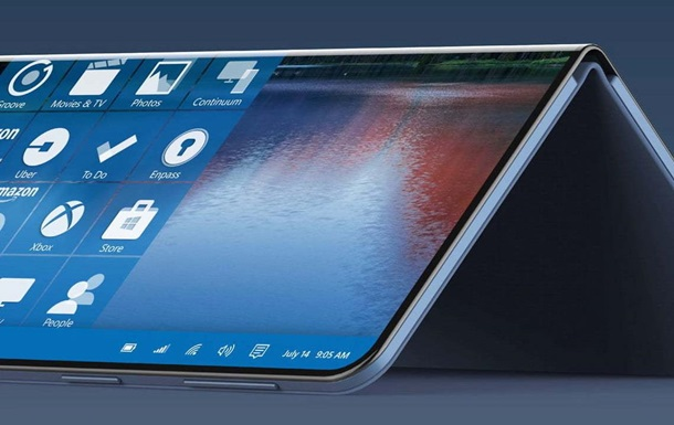 Microsoft создала смартфон с двумя дисплеями