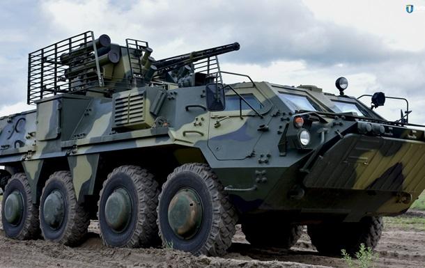 Армії передали партію БТР-4 з новою бронею