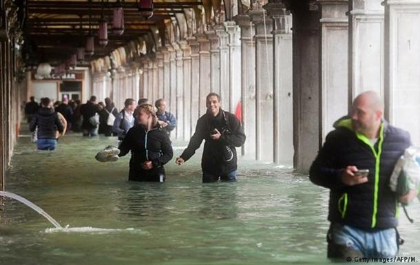 Негода в Італії: Венеція опинилася під водою, гинуть люди