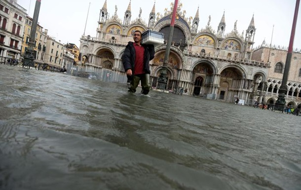 Непогода в Италии: фото и видео