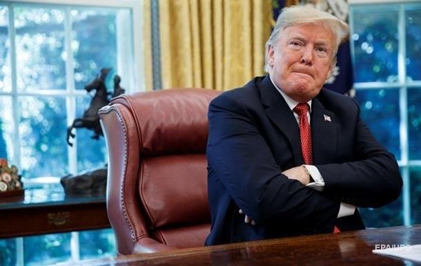 Опрос: рейтинг согласия работы Трампа опустился до40%