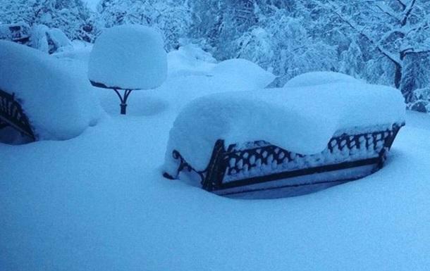 Францію накрив снігопад