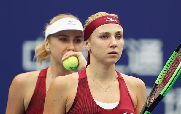 Сестры Киченок одержали первую победу на малом Итоговом Турнире WTA