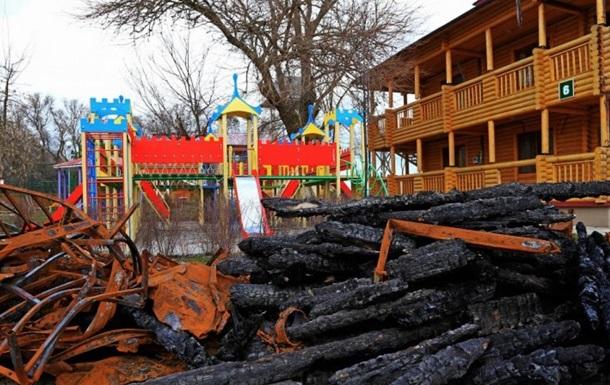 Пожежа в таборі Вікторія: будівельникам закидають розкрадання 1,7 млн грн