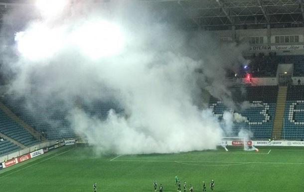 В Одесі під час матчу стався вибух