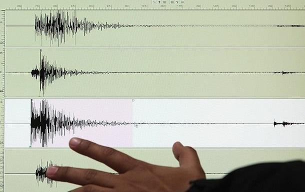 Землетрус стався в Китаї