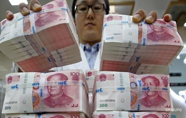 Китайський юань впав до десятирічного мінімуму