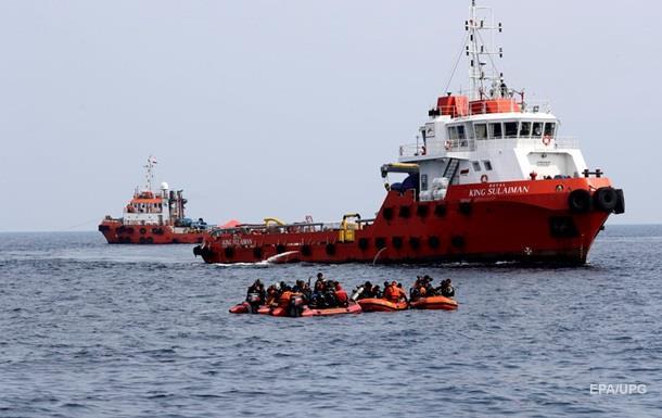 На місці аварії літака в Індонезії знайшли уламок шасі