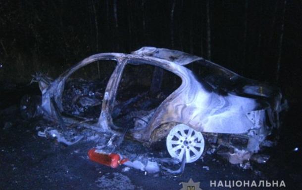 ДТП на Ровенщине: в BMW сгорели два брата