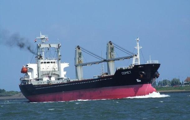 Ответ санкциям. Киев задержал судно с грузом  ЛНР