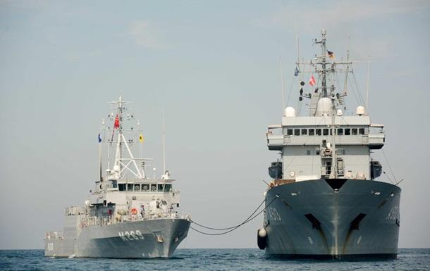 В Грузию прибыли пять военных кораблей НАТО